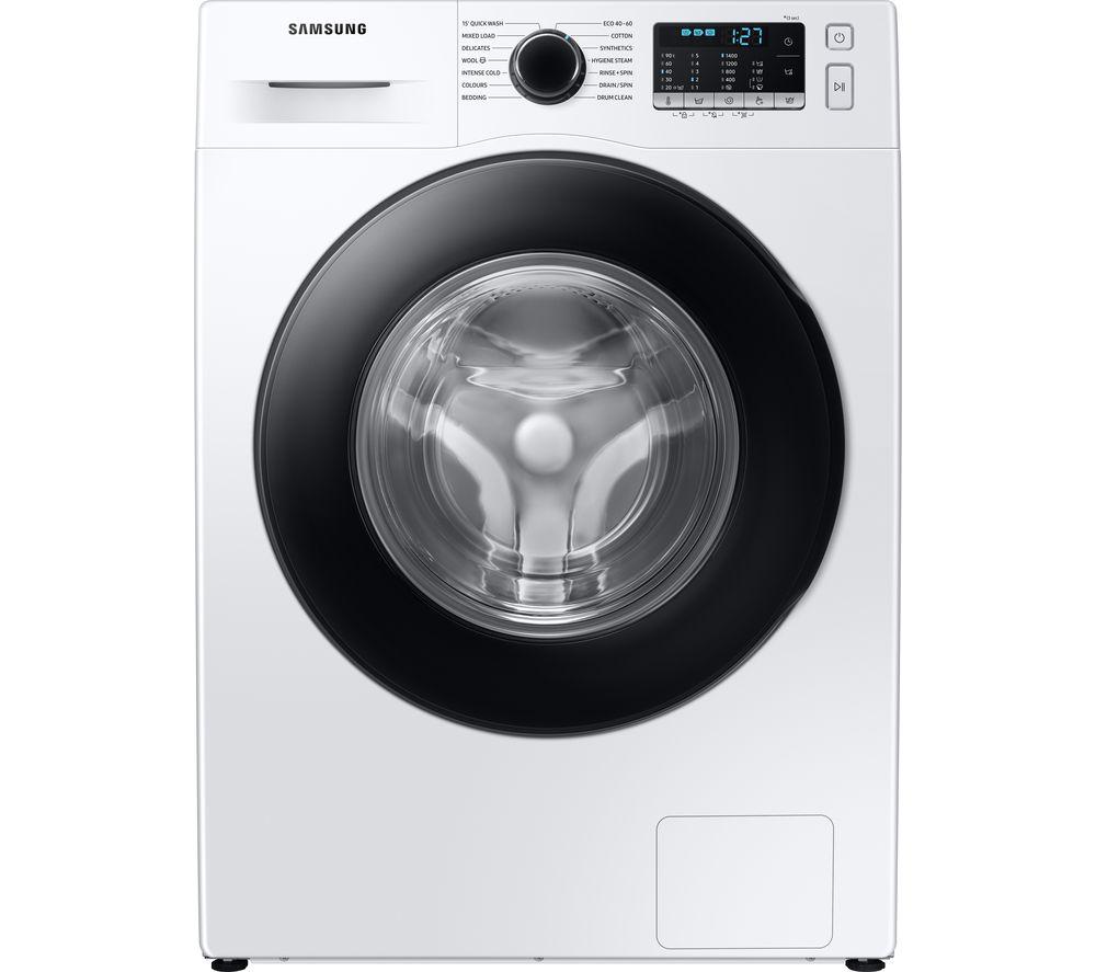 SAMSUNG ecobubble WW90TA046AE/EU 9 kg 1400 Spin Washing Machine - White