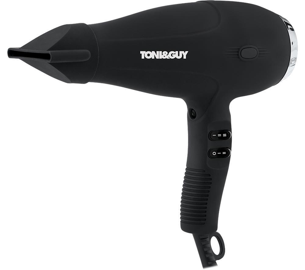 TONI & GUY Salon Professional TGDR5370UK1 Hair Dryer - Black