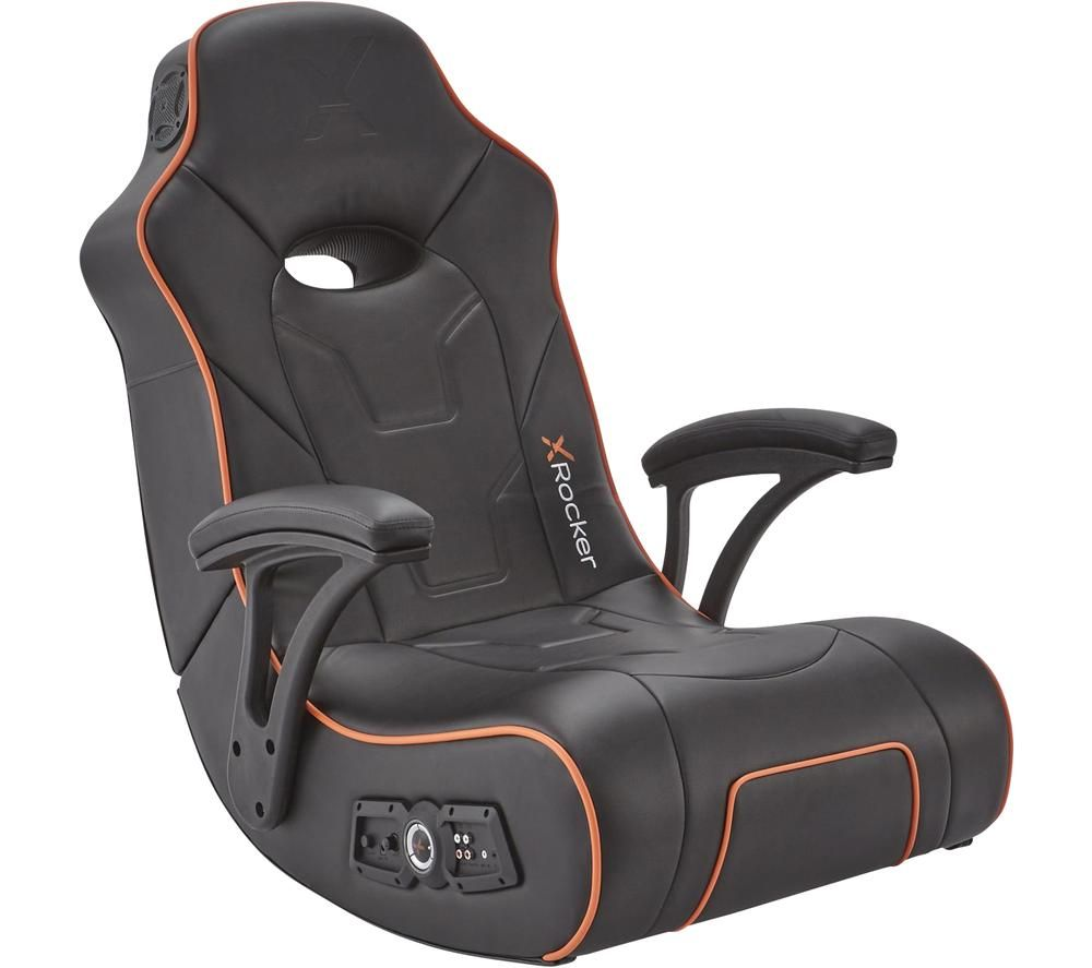 X ROCKER G-Force 2.1 Floor Rocker Gaming Chair - Grey
