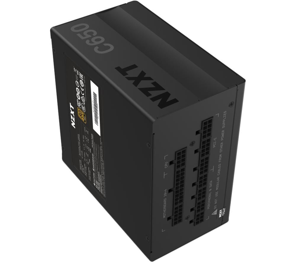 Image of NZXT C-Series C650 650W 80+ Gold Fully-Modular Power Supply UK Plug