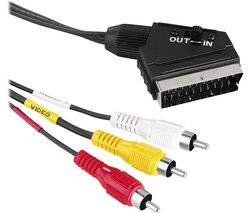 00043178 SCART to RCA Cable - 1.5 m