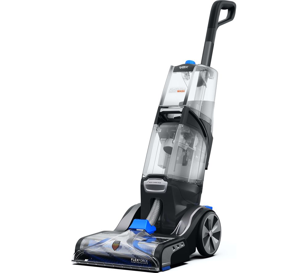 VAX Platinum SmartWash 1-1-142257 Upright Carpet Cleaner - Charcoal & Blue