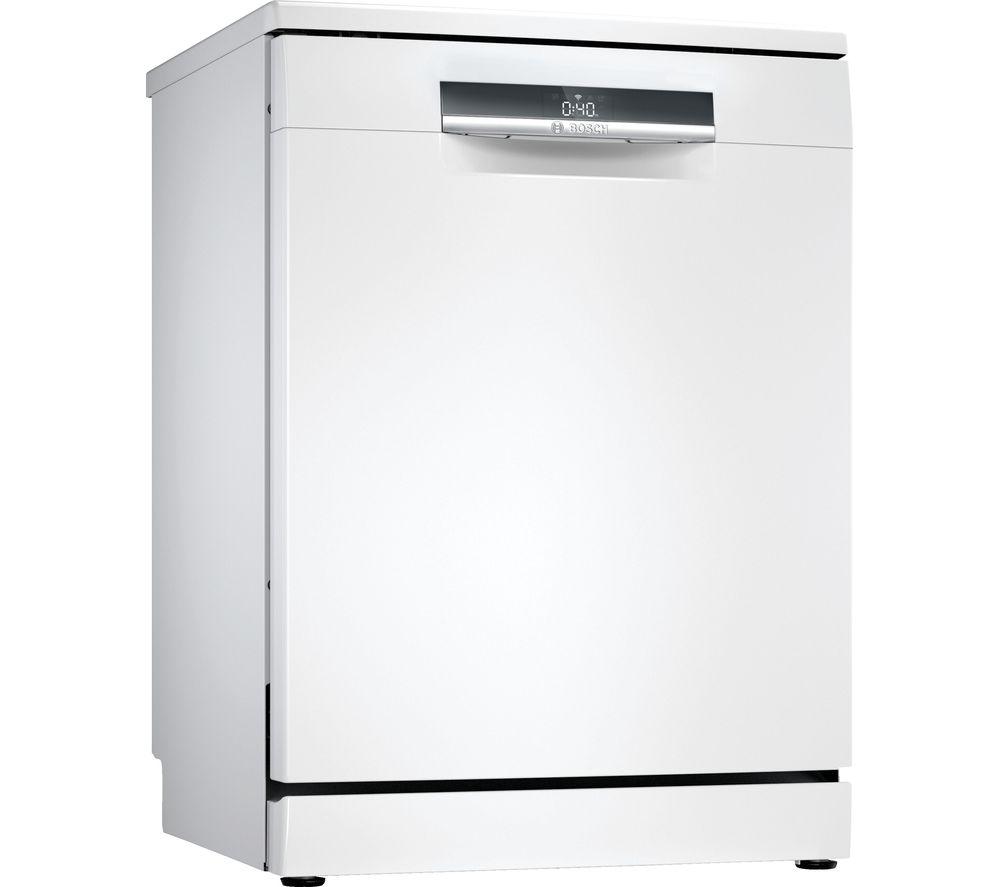 BOSCH Serie 6 SMS6EDW02G Full-size WiFi-enabled Dishwasher - White, White
