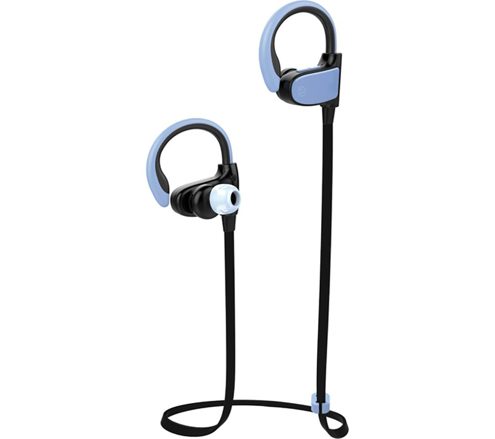 VIVANCO Sport Air Running Wireless Bluetooth Earphones - Blue & Black