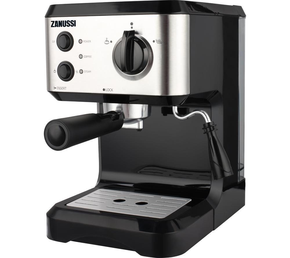 ZANUSSI ZES-1545 Coffee Machine - Silver