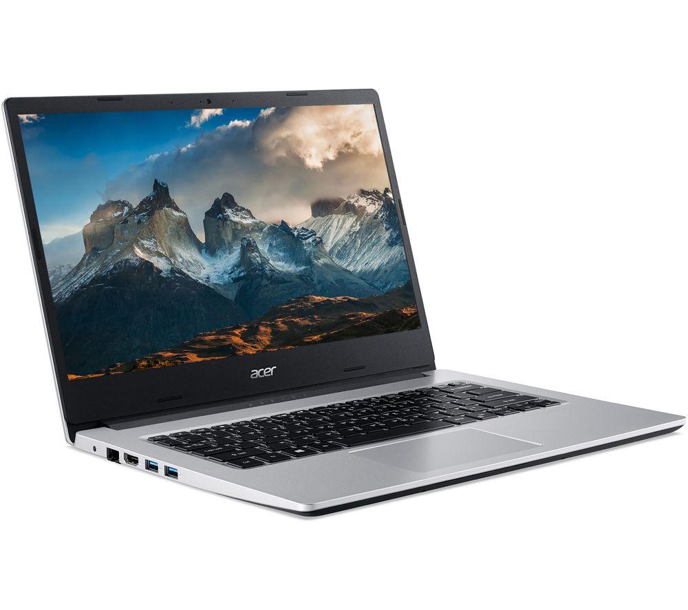 """ACER Aspire 3 A314-22 14"""" Laptop - AMD Ryzen 3, 128 GB SSD, Silver"""