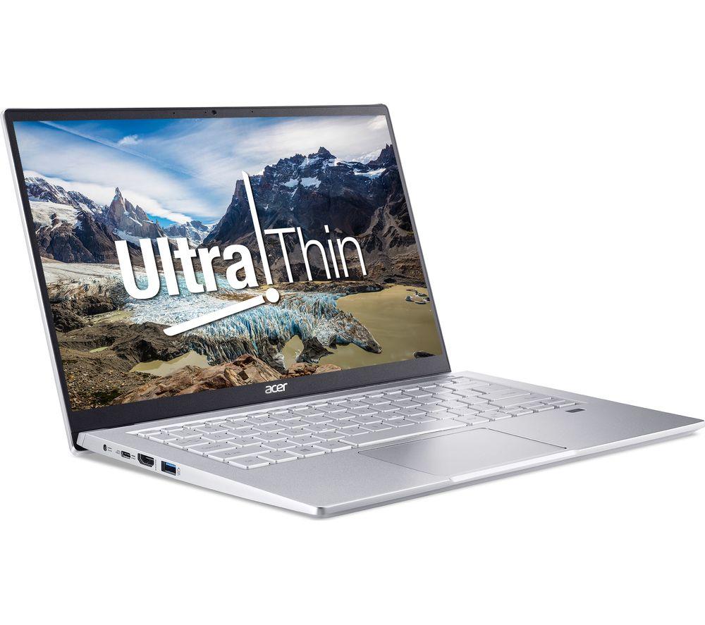 """Image of ACER Swift 3 14"""" Laptop - AMD Ryzen 3, 256 GB SSD, Silver, Silver"""