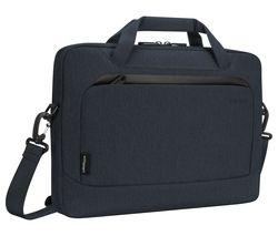 """EcoSmart Cypress Slimcase TBS92501GL 15.6"""" Laptop Case - Navy"""