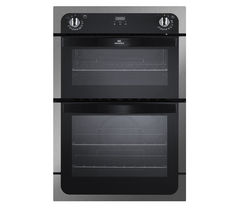 NW901DOP Electric Double Oven - Black & Stainless Steel