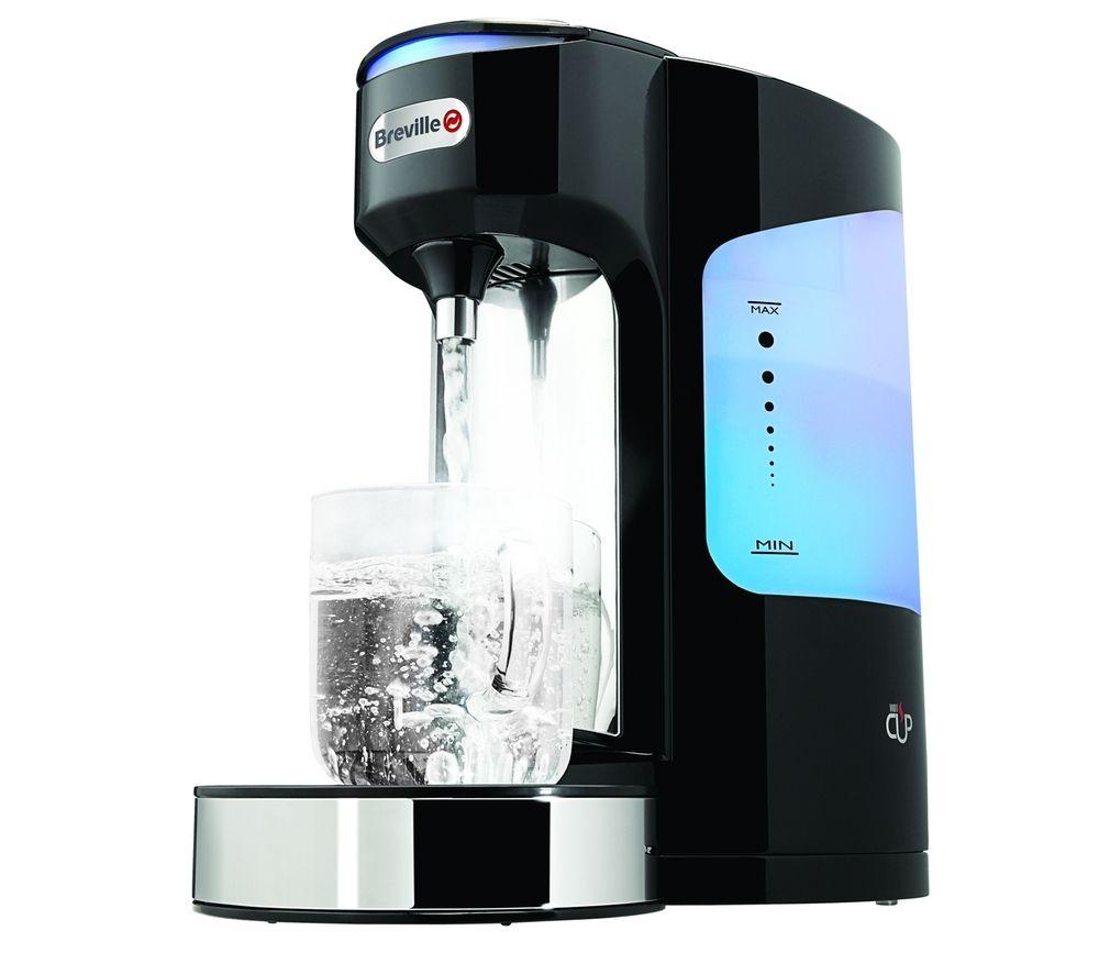 Image of BREVILLE Hot Cup VKJ318 Five-cup Hot Water Dispenser - Black, Black