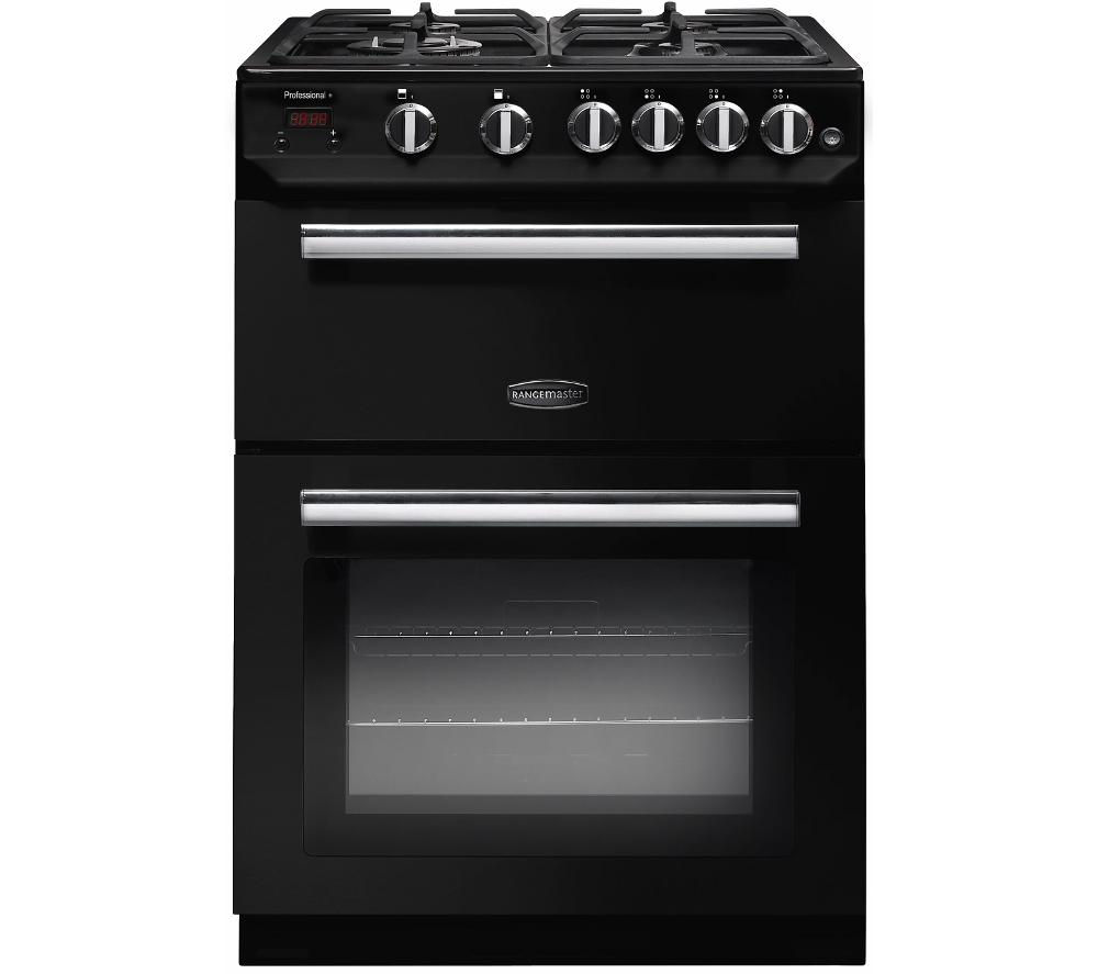 RANGEMASTER Professional 60 Gas Cooker - Black