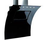 BRITANNIA Omaggio OMA90BL Chimney Cooker Hood - Black Glass