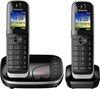 PANASONIC KX-TGJ322EB Cordless Phone with Answering Machine - Twin Handsets