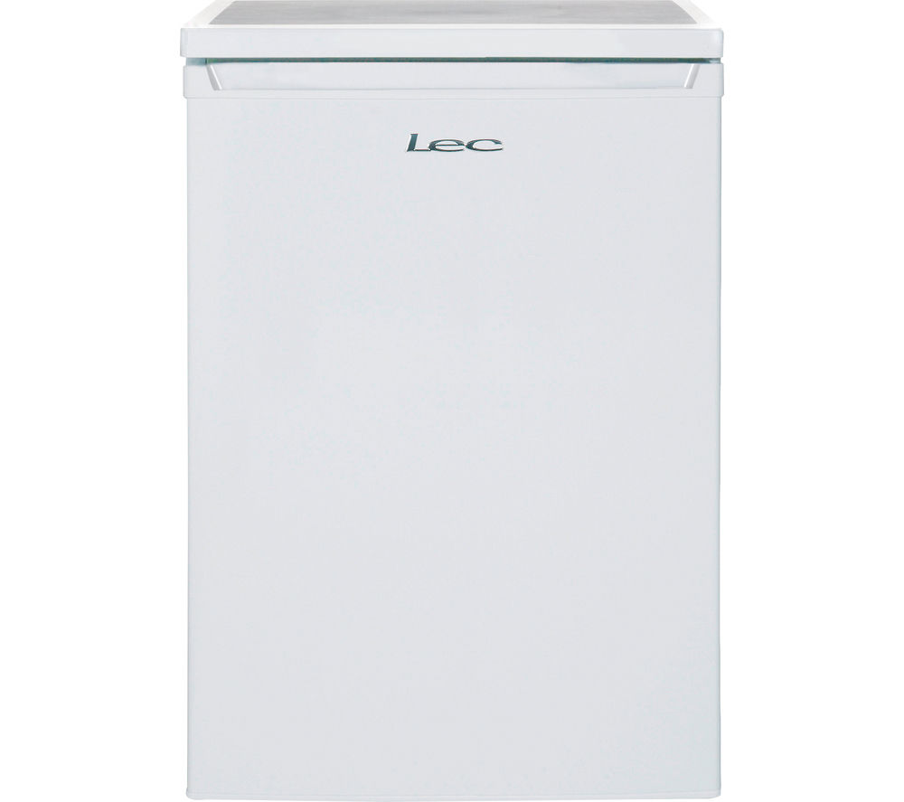 LEC R6014W Undercounter Fridge - White, White Review thumbnail
