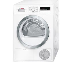 Serie 4 WTN85280GB Condenser Tumble Dryer - White
