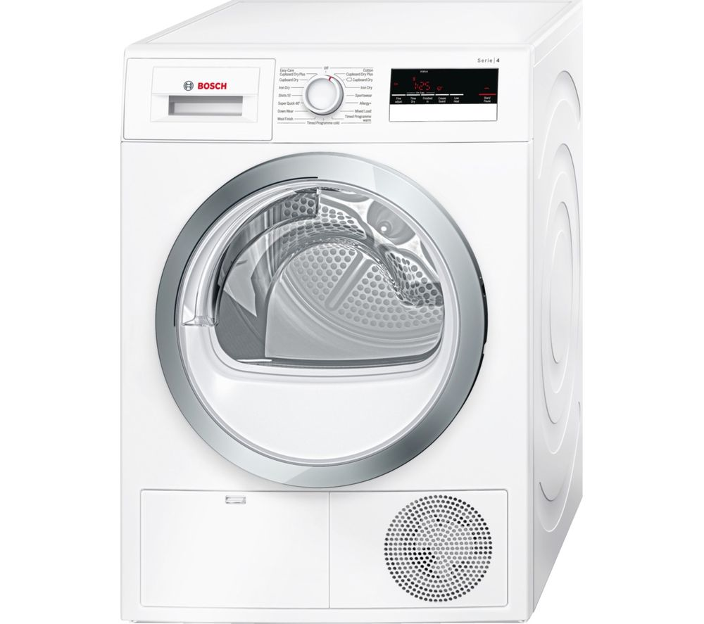 Bosch Tumble Dryer WTN85280GB Condenser  - White