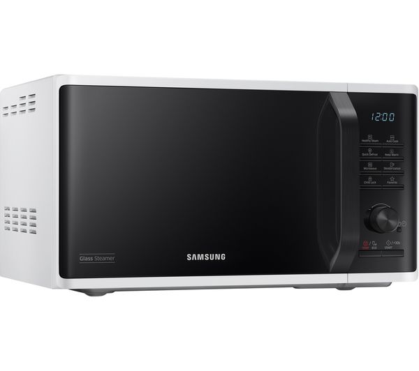 Buy Samsung Mw3500k Solo Microwave White Amp Black Free