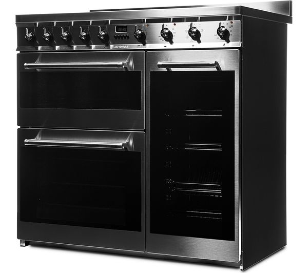 Buy Smeg Symphony Sy93i 90 Cm Electric Induction Range Cooker