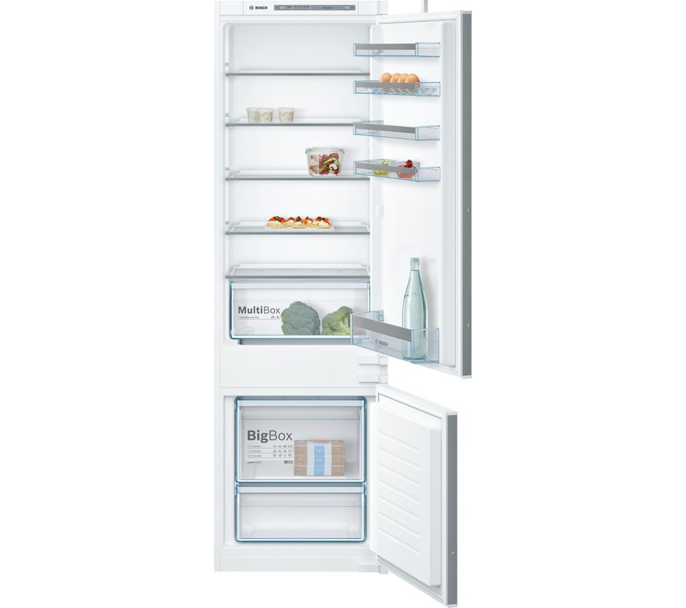 BOSCH Serie 4 KIV87VS30G Integrated 70/30 Fridge Freezer