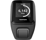 TOMTOM Spark 3 GPS Fitness Watch - Black, Large