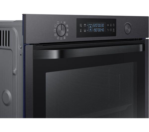 buy samsung dual cook nv75k5571 electric oven black. Black Bedroom Furniture Sets. Home Design Ideas