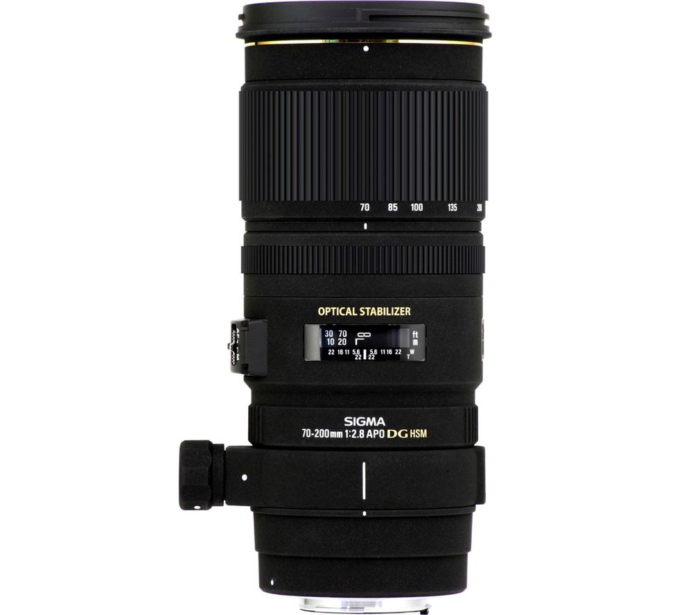 70-200 mm f/2.8 APO EX DG HSM Telephoto Zoom Lens - for Sigma