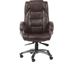 ALPHASON Northland Leather Reclining Executive Chair - Brown