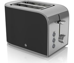 SWAN Retro ST17020BN 2-Slice Toaster - Black
