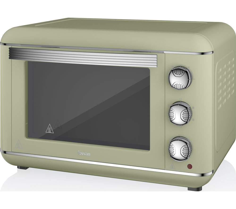 Buy Swan Retro Sf37010gn Electric Oven Green Free