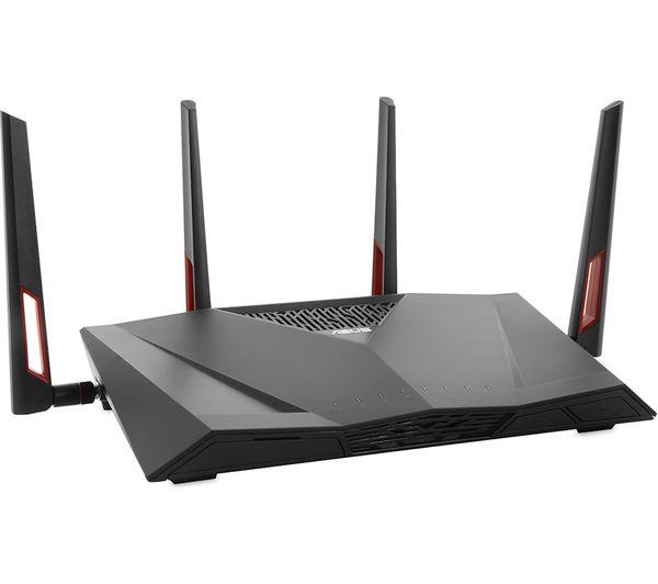asus dsl ac88u wifi modem router ac 3100 dual band deals pc world. Black Bedroom Furniture Sets. Home Design Ideas