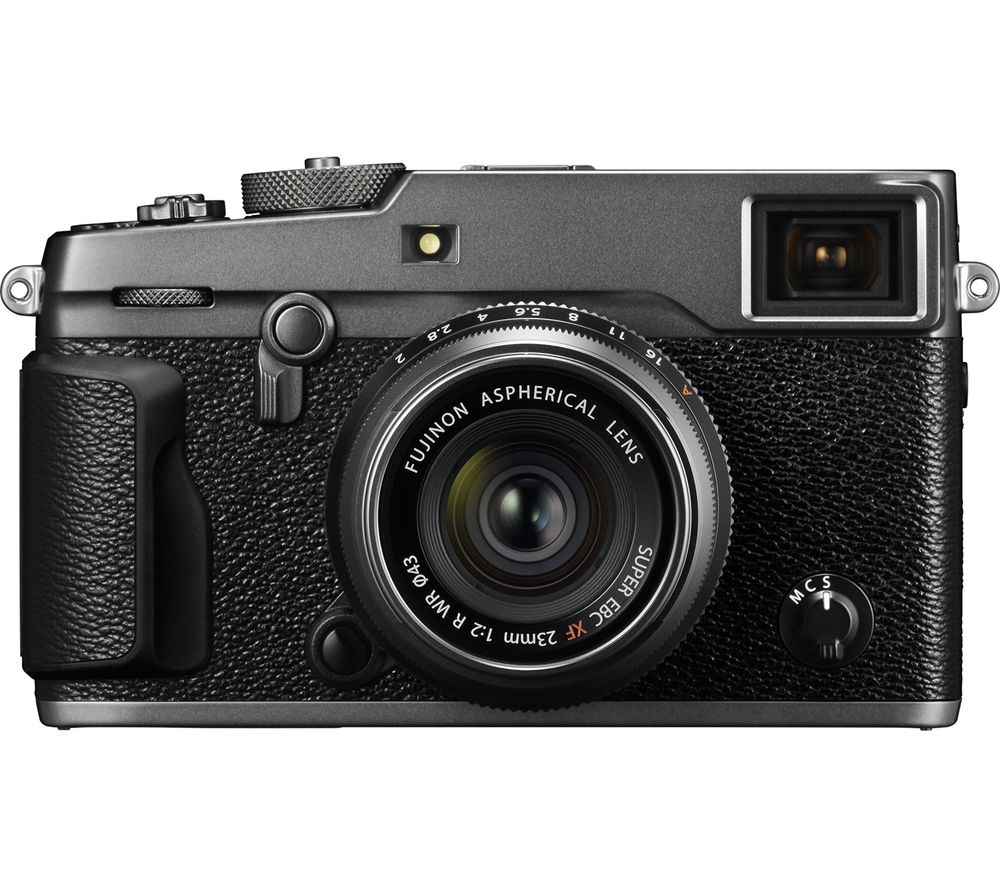 FUJIFILM X-Pro2 Mirrorless Camera with 23 mm f/2 Lens - Graphite + Extreme Plus Class 10 SDXC Memory Card - 64 GB