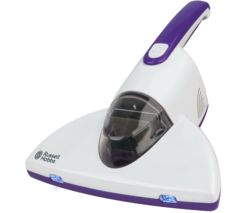 RUSSELL HOBBS RHBV1001 UV Antibacterial Bed Handheld Vacuum Cleaner - White & Purple