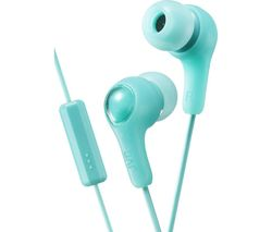 JVC HA-FX7M Gumy Plus Headphones – Mint Green