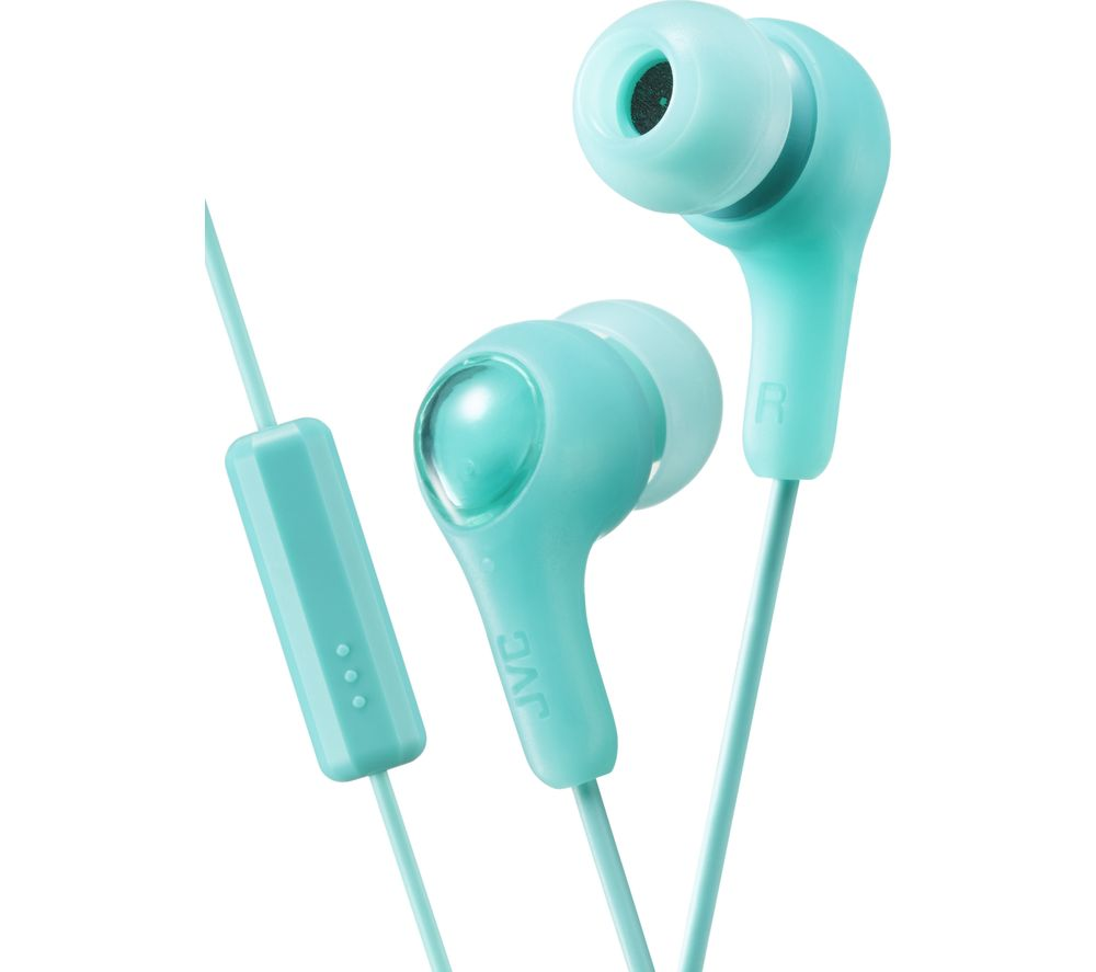 JVC Gumy Plus Headphones - Mint Green