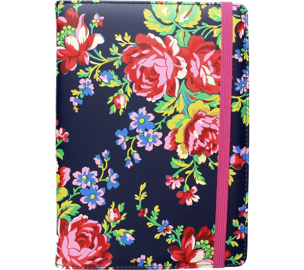 "ACCESSORIZE Navy Rose 10"" Tablet Case"