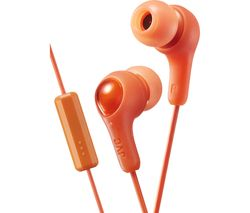 JVC HA-FX7M Gumy Plus Headphones – Orange