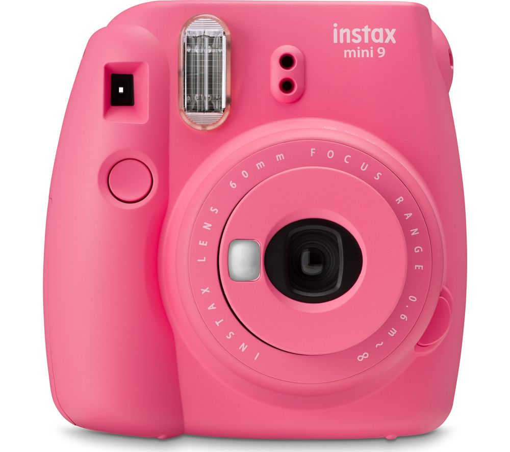 Instax Mini 9 Instant Camera Flamingo Pink Pink
