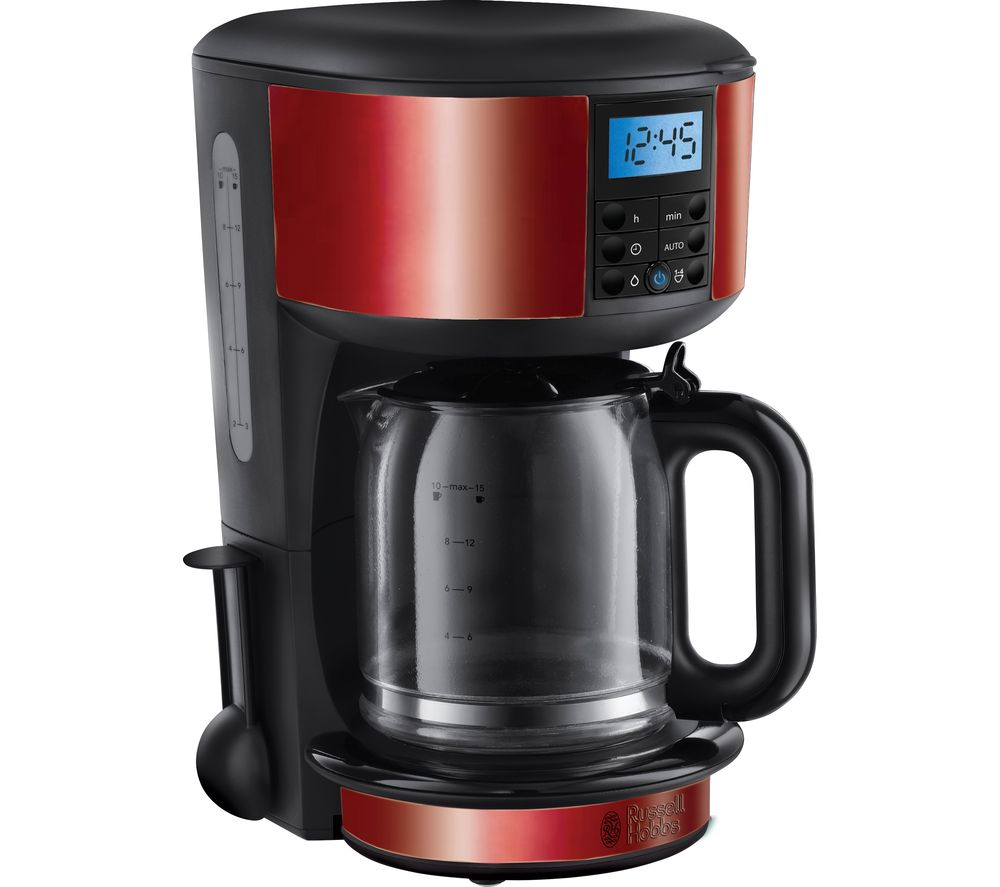 RUSSELL HOBBS Legacy 20682 Fast Brew Filter Coffee Machine - Red