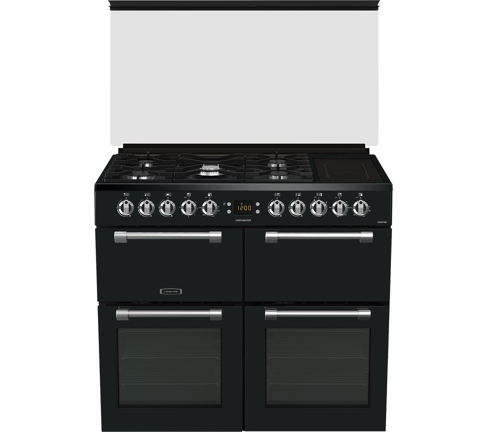 LEISURE Chefmaster CC100F521T 100 cm Dual Fuel Range Cooker - Anthracite, Anthracite