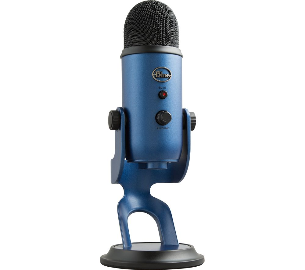 Image of BLUE Yeti Professional USB Microphone - Midnight Blue, Blue