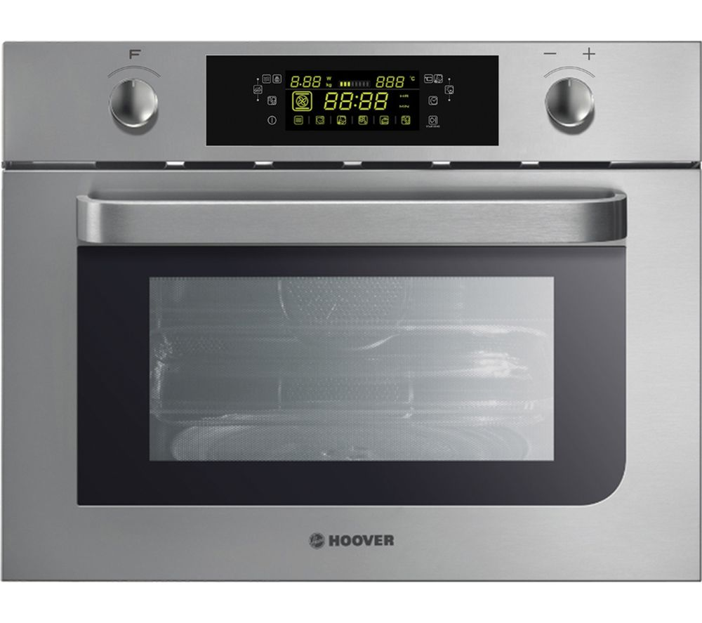 HOOVER H-MICROWAVE 100 COMBI HMC440 PX Built-in Combination Microwave - Black, Black