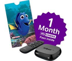 NOW TV Box with 1 month Sky Movies Pass & Sky Store Voucher