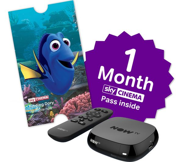 Image of NOW TV Box with 1 month Sky Movies Pass & Sky Store Voucher
