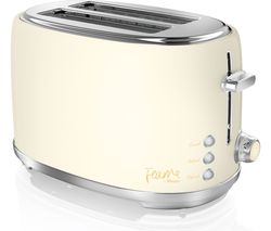 SWAN Fearne ST20010HON 2-Slice Toaster - Pale Honey