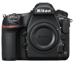 NIKON D850 DSLR Camera - Black, Body Only