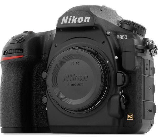 VBA520AE - NIKON D850 DSLR Camera - Body Only - Currys PC