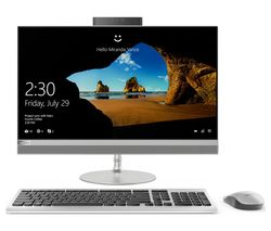 "LENOVO IdeaCentre 520-24AST 23.8"" All-in-One PC - Silver"