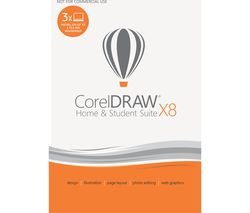 Coreldraw Home and Student suite X8