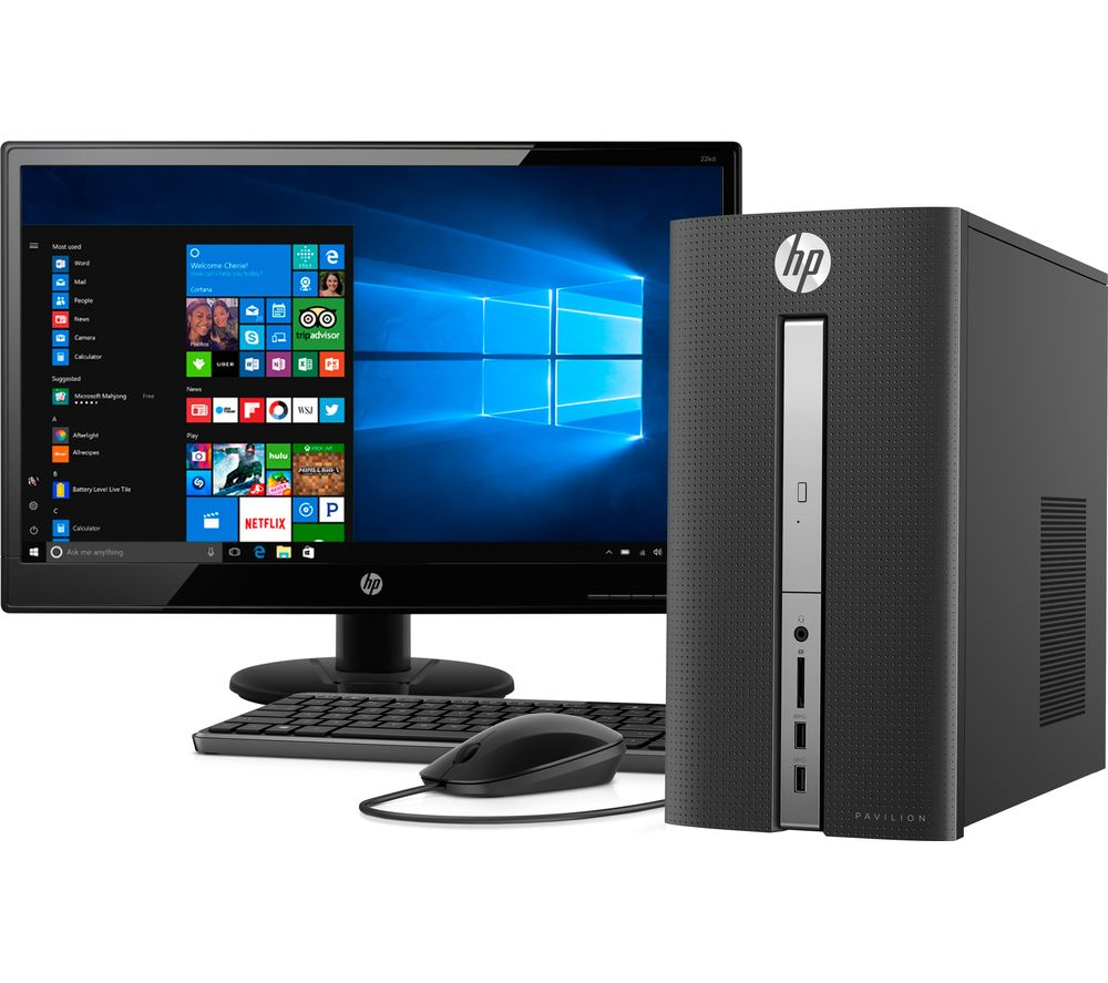 HP 570-a111na Desktop PC with Full HD 21.5