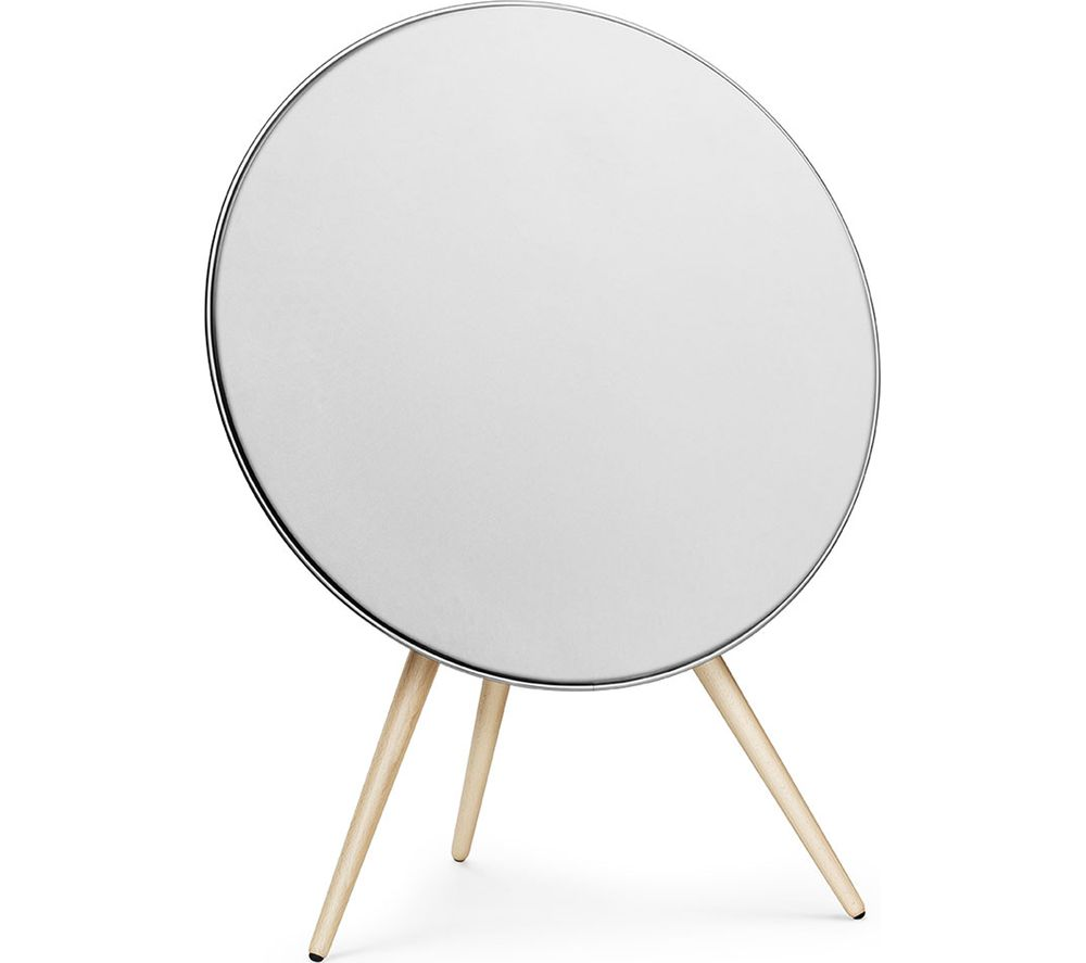 B&O BeoPlay A9 Bluetooth Wireless Smart Sound Speaker - White & Maple